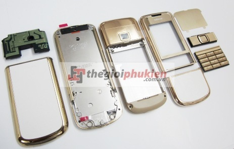 Vỏ Nokia 8800 Gold Arte Original ( Full Housing )