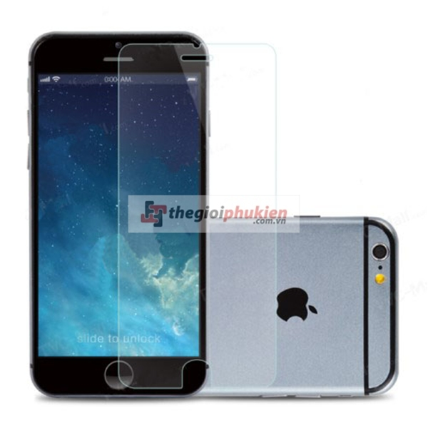 Dán kính cường lực iPhone 6/iPhone 6 Plus