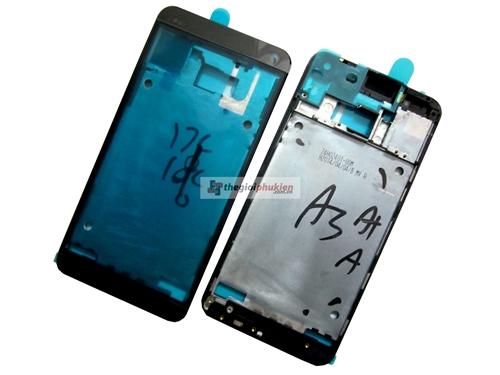Khung viền mặt trước HTC One M7 Black