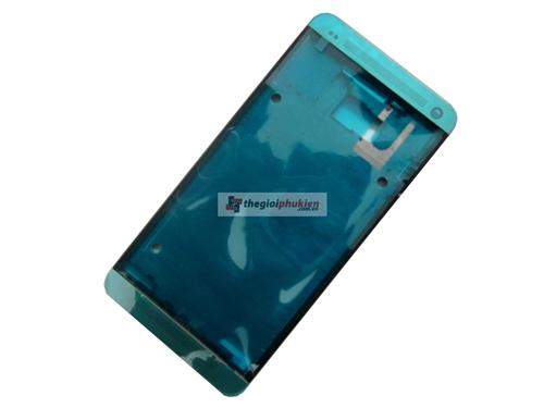 Khung viền mặt trước HTC One M7 Gold
