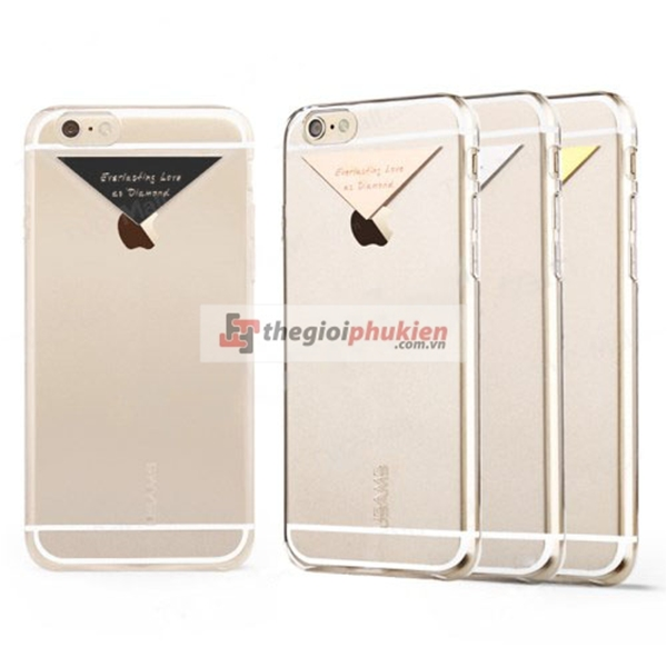 Ốp lưng iPhone 6/iPhone 6 Plus USAM