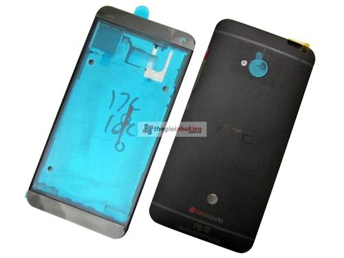 Vỏ HTC One M7 Black Công ty