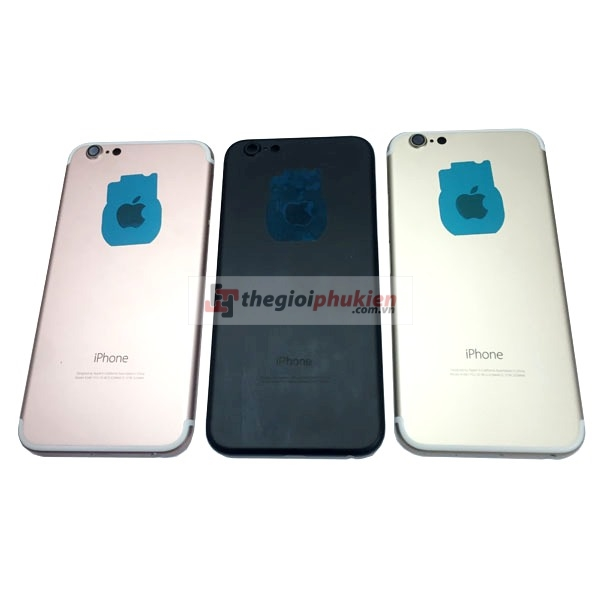 Vỏ iPhone 7 thay iPhone 6 Gold - Rose - Black