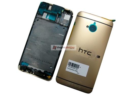 Vỏ HTC One M7 Gold Công ty